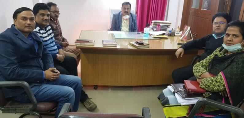 विकास भवन अयोध्या में हुआ कार्यकारणी सभा का गठन