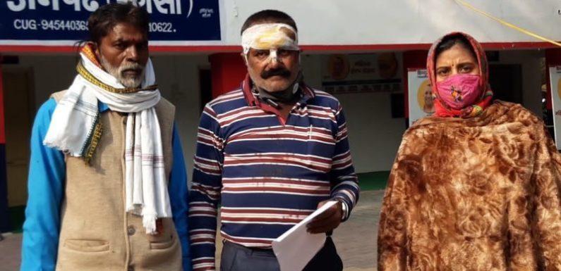 झाँसी:  बाइक सवार पर अज्ञात बदमाशों ने किया हमला
