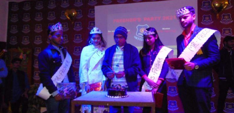 भवदीय ग्रुप ऑफ़ इंस्टीटूशन्स अयोध्या में हुआ फ्रेशर पार्टी आयोजन