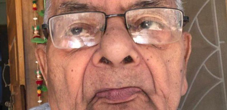रसायनशास्त्री प्रो. विश्वनाथ प्रसाद वर्मा का हृदयगति रुकने से निधन