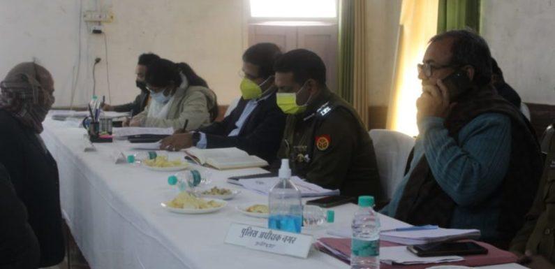 अयोध्या : तहसील सदर में आयोजित हुआ सम्पूर्ण समाधान दिवस