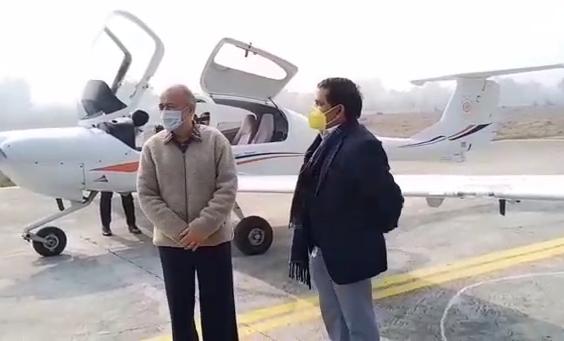 सचिव प्रदीप सिंह ने अयोध्या में बन रहे एयरपोर्ट का किया निरीक्षण