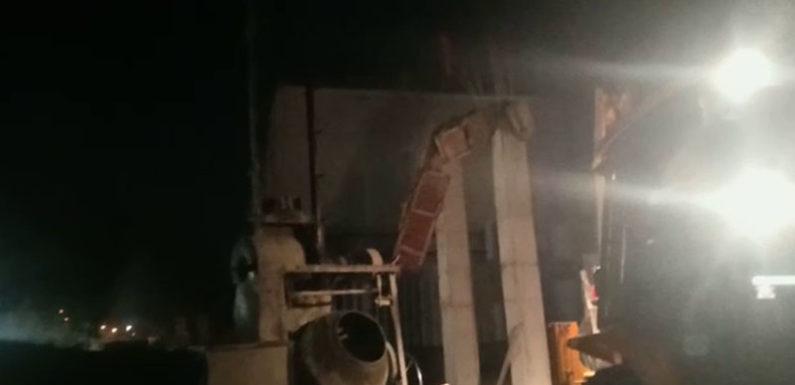 निर्माणाधीन कॉलेज की शटरिंग टूटकर गिरने से बड़ा हादसा, 7 मजदूर घायल