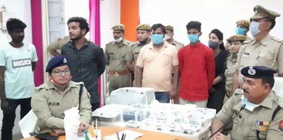 फर्जी आधारकार्ड बनाने वाले गिरोह का पर्दाफाश, दो शातिर चढ़े पुलिस के हत्थे