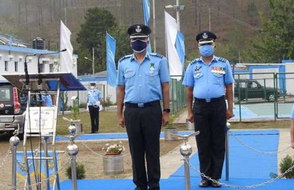 ग्रुप कैप्टन पूरन देव ओझा को मिली वायु सेना स्टेशन भवाली के स्टेशन कमांडर की कमान