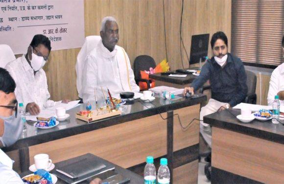उद्यान मंत्री ने वेब पोर्टल का किया शुभारम्भ किसानों को मिलेगी नवीन योजनाओं की जानकारी