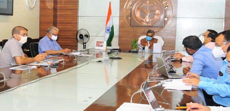 मुख्य सचिव की अध्यक्षता में प्रोजेक्ट माॅनिटरिंग ग्रुप की बैठक आयोजित
