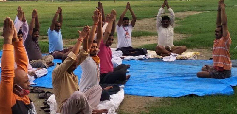 योग मानव जीवन के लिए अत्यंत महत्त्वपूर्ण  है -शेषमणि त्रिपाठी