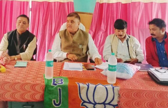 उत्तराखंड के सभी विधानसभाओ में विजय प्राप्त करेगी भाजपा – विधायक महेंद्र भट्ट