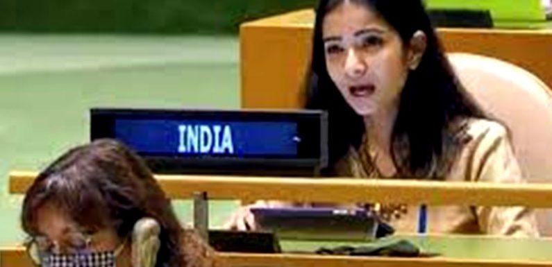 इमरान खान को भारतीय विदेश सेवा की अधिकारी स्नेहा दुबे का करारा जवाब