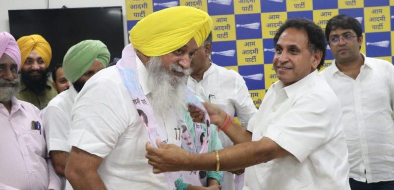 भाजपा के दो बड़े दिग्गज नेता आम आदमी पार्टी में शामिल