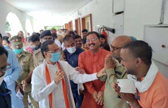 वसूली और फिरौती मांगने वाले मांग रहें माफी -दिनेश शर्मा