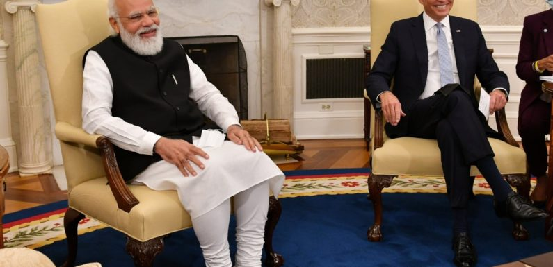 पीएम मोदी ने राष्ट्रपति जो बाइडेन से मुलाकात की