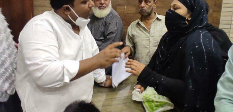 इमरान हुसैन ने  बीएसईएस अधिकारियों को लगाई फटकार