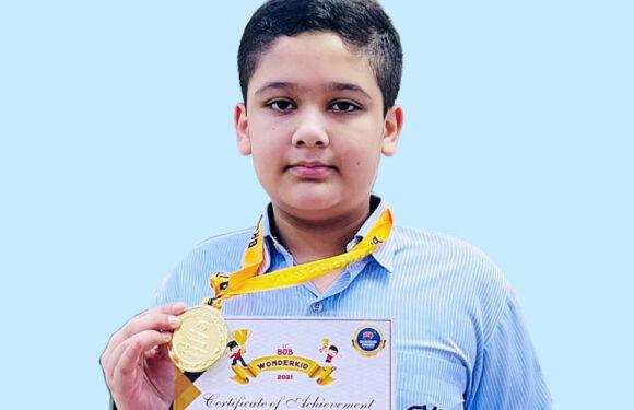 नेशनल प्रतियोगिता में सी.एम.एस. छात्र ने जीता गोल्ड मेडल