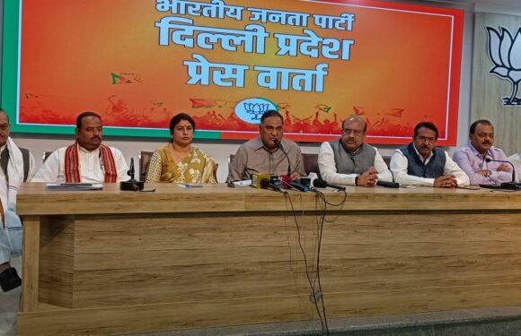 दिल्ली सरकार की नई आबकारी नीति के खिलाफ भाजपा ने खोला मोर्चा, सभी वार्डों में धरना देंगे विधायक